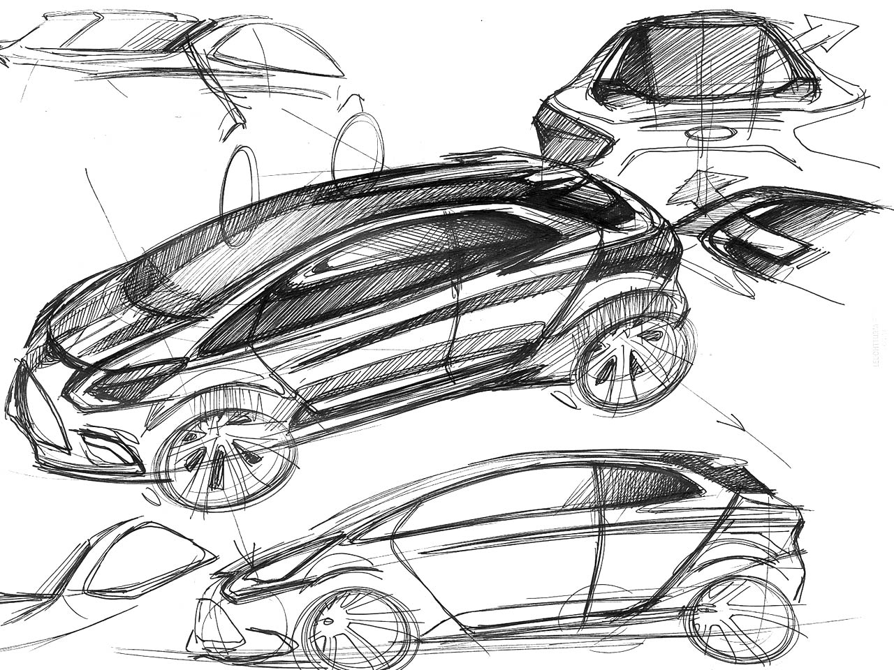 Types of Sketching – Adapt and Design